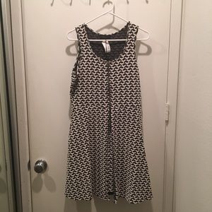 Romeo and Juliet patterned dress